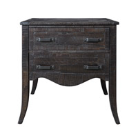 Uttermost 25925 Tasos Deep Brown Glaze Accent Chest thumb