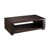 Petris 54 inch Coffee Table Home Decor, Stacked Leg, Matthew Williams