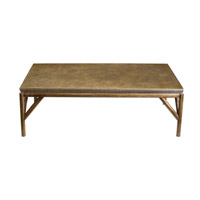 Kanti 57 inch Metallic Champagne Coffee Table Home Decor, Matthew Williams
