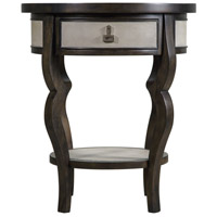 Uttermost 25966 Remy 28 X 24 inch Dark Walnut Accent Table