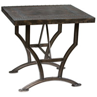 Calloway 26 inch Rubbed Bronze Accent Table Home Decor