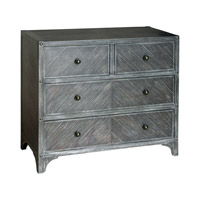 Brishen Light Gray Wash Accent Chest