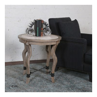 Blanche 25 inch Driftwood End Table Home Decor
