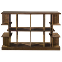 Simeto 54 inch Walnut Veneer Console Table Home Decor