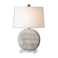 Uttermost Albinus 1 Light Table Lamp in White 26132