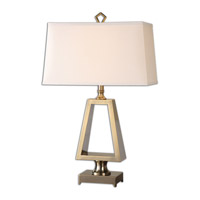 Uttermost Octavian 1 Light Table Lamp in Gold Metal 26142