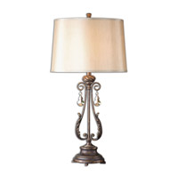 Uttermost Cassia 1 Light Table Lamp in Oil Rubbed Bronze 26145