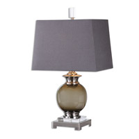 Uttermost Callias 1 Light Table Lamp in Olive Gray 26148