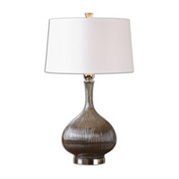 Uttermost Irpina 1 Light Table Lamp in Rust Charcoal 26152