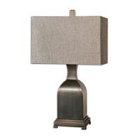 Uttermost Erlingr 1 Light Table Lamp in Rubbed Bronze 26163-1
