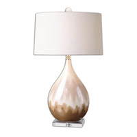 Uttermost 26171-1 Flavian 31 inch 150 watt Glazed Ceramic Table Lamp Portable Light
