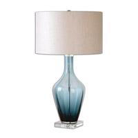 Uttermost 26191-1 Hagano 29 inch 150 watt Table Lamp Portable Light