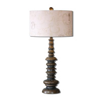 Uttermost Ariano 1 Light Table Lamp in Gray Wash 26197-1