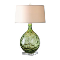 Uttermost Florian 1 Light Table Lamp in Polished Nickel 26199