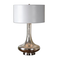 Uttermost 26200-1 Fabricius 30 inch 150 watt Brushed Nickel Table Lamp Portable Light