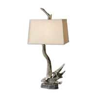 Portland 38 inch 150 watt Faux Driftwood Table Lamp Portable Light