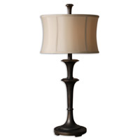 Uttermost 26269-1 Brazoria 31 inch 150 watt Oil Rubbed Bronze Table Lamp Portable Light photo thumbnail