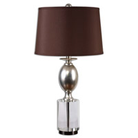 Uttermost Almira Table Lamp in Antiqued Silver Leaf 26281