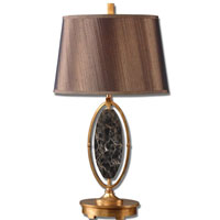 Uttermost Teverina Marble And Gold Table Lamp in Marble and Gold 26288 photo thumbnail