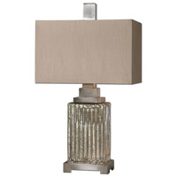 Uttermost Canino Mercury Glass Table Lamp in Mercury Glass 26289-1