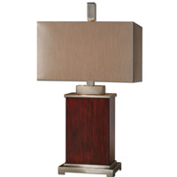 Uttermost Brimley Modern Wood Table Lamp in Wood 26290-1 photo thumbnail