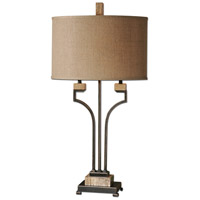 Uttermost Larimer Rustic Bronze Table Lamp in Rustic Bronze 26295-1