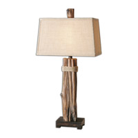 Yorkshire 36 inch 150 watt Faux Driftwood Table Lamp Portable Light