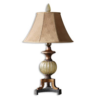 Uttermost Gavet Table Lamp in Crackled Translucent Sea Green 26325