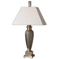 Uttermost Everson Table Lamp in Dimpled Ceramic 26339