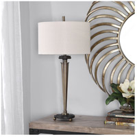 Uttermost 26352-1 Osten 32 inch 150 watt Brass Table Lamp Portable Light alternative photo thumbnail