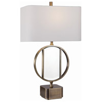 Uttermost 26356-1 Luciana 32 inch 150 watt Brass Table Lamp Portable Light