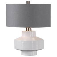Uttermost 26382-1 Crosby 19 inch 60 watt Table Lamp Portable Light