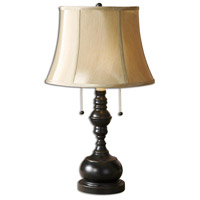 Uttermost 26412-2 Dansby 24 inch 60.00 watt Antique Black Table lamps Portable Light Set of 2