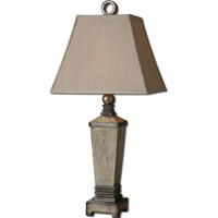 Uttermost Gilman 1 Light Table Lamp in Aged Ivory 26439