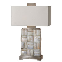 Uttermost Calaveras 2 Light Table Lamp in Mother of Pearl 26448-1