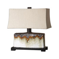 Uttermost Adelanto Table Lamp in Antiqued Ivory Glaze 26455-1