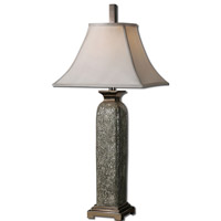 Uttermost Vasto 1 Light Table Lamp in Burnished Gray 26461