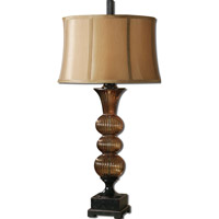 Uttermost Helios 1 Light Table Lamp in Dark Bronze 26462