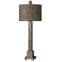 Uttermost Sedilo 1 Light Table Lamp in Burnished Bronze 26469-1