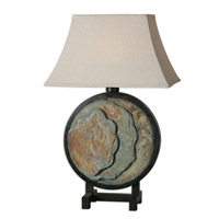 Uttermost Slate 1 Light Table Lamp in Slate 26472