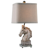 Uttermost Rathin 1 Light Table Lamp in Rathin Horse 26482-1