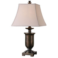 Uttermost 26499-2 Viggiano 29 inch 150.00 watt Oil Rubbed Bronze with Gold Highlights Table lamps Portable Light, Set of 2