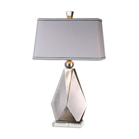 Uttermost Taburno 1 Light Table Lamp in Brushed Nickel 26506