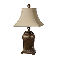 Uttermost Easton Table Lamp in Metallic Bronze Glaze 26515 photo thumbnail