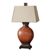 Uttermost 26517 Suri 35 inch 150 watt Burnished Dark Red Table Lamp Portable Light