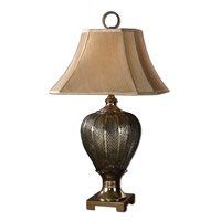Uttermost Cupello Table Lamp in Antiqued Silver Champagne 26521