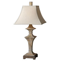 Uttermost Cagliari Table Lamp in Roasted Pecan 26526