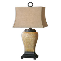 Uttermost Melitta 1 Light Lamps in Light Gray Wash 26540