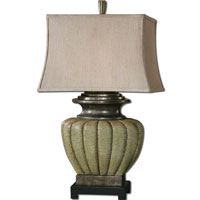 Uttermost Tufillo 1 Light Table Lamp in Crackled Pale Green 26545 thumb