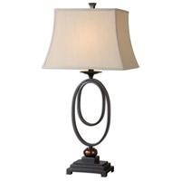 Uttermost 26552-2 Orienta 32 inch 100.00 watt Dark Oil Rubbed Bronze with Gold Highlights Table lamps Portable Light, Set of 2